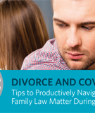 Living Together While Planning a Divorce During COVID-19