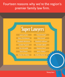 14 McKinley Irvin Family Law Attorneys Listed in 2016 Washington Super Lawyers