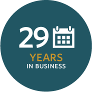 26 Years in Business