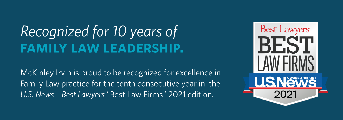 "McKinley Irvin ranked in 2021 ""Best Law Firms"" by U.S. News & Best Lawyers"