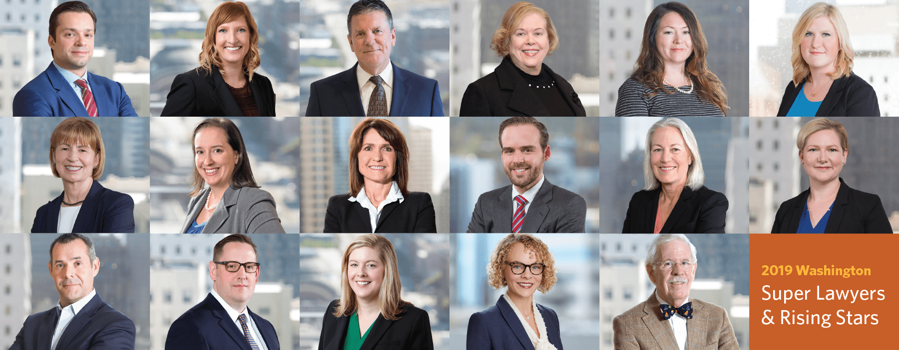 17 McKinley Irvin Attorneys Named 2019 Washington Super Lawyers and Rising Stars