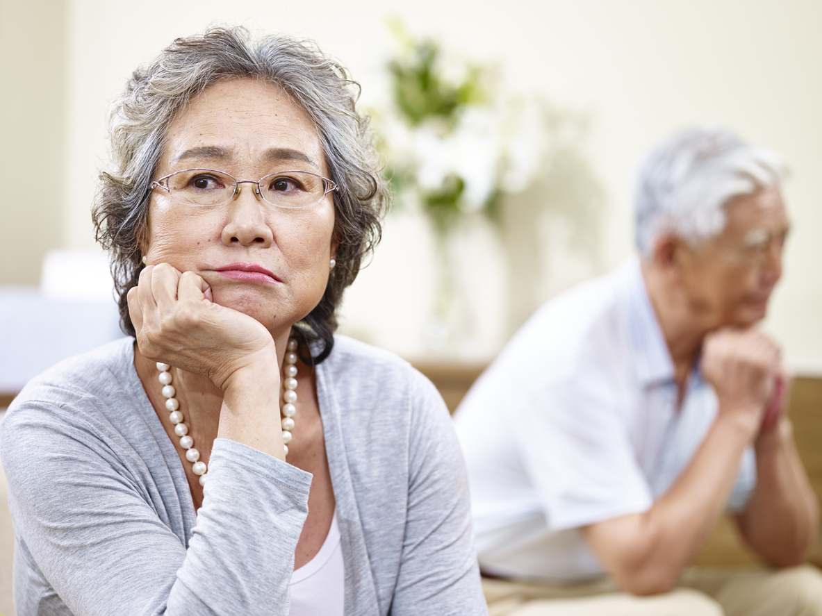 Common Issues When Seniors Get Divorced
