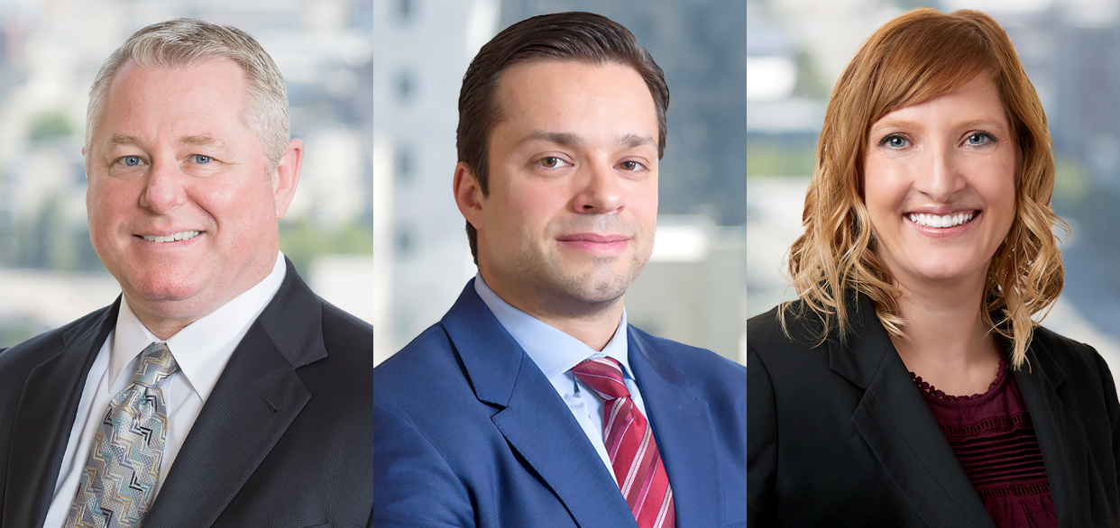 McKinley Irvin Names Three New Partners