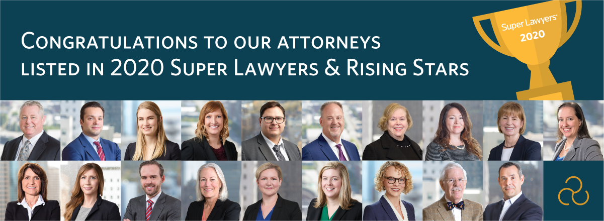 McKinley Irvin Attorneys Named to 2020 Washington Super Lawyers and Rising Stars