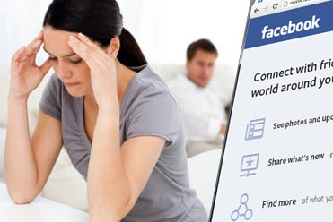 Facebook used as evidence in divorce