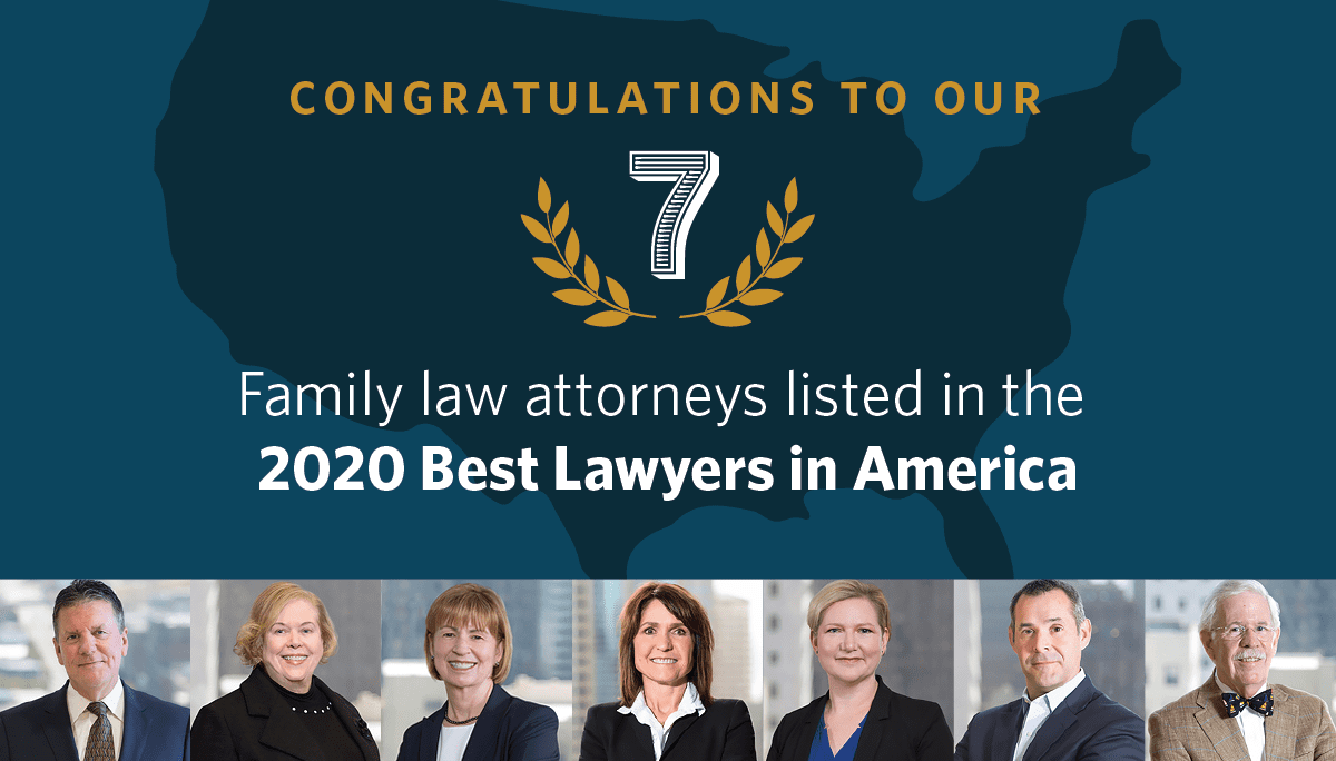Seven Attorneys from McKinley Irvin Family Law Named in 2020 Best Lawyers®