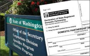 How Can I file for a Domestic Partnership in Washington? | LGBT Law